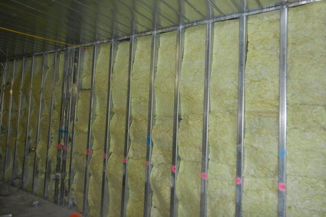 Insulating Metal Stud Demising Wall